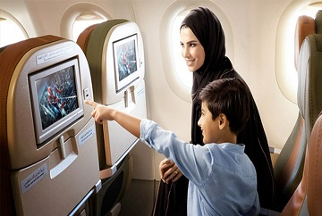 SaudiGulf In-flight entertainment